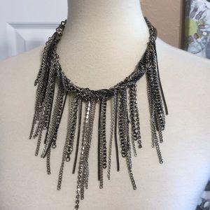 Anthropologie Layered links necklace adjustable